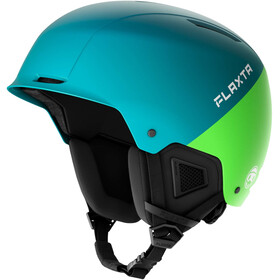 Flaxta Noble Casco Ragazzi, flaxta blue/bright green